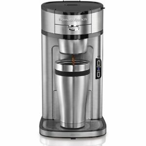 Hamilton Beach The Scoop Single Serve Coffee Maker - Stainless Steel (49981)