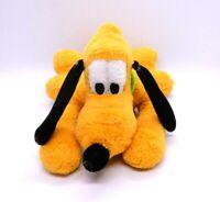 "Vintage Disney Parks Pluto Plush Sitting Dog 10"" Walt Disney World Disneyland"