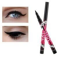 Delineador De Ojos Líquido Lápiz Impermeable Negro Larga Duración 36H Maquillaje