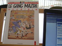 LE GANG MAZDA ACCELERE T6 EO1995 TTBE COMPLET LA TIRETTE FONCTIONNE TOME DARASSE