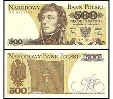500 Zlotych-Billete De Polonia-Mint Unc condición-Zloty Polaco