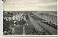 Świnoujście SWINEMÜNDE 1927 Dt. Reich AK Polen Häuser Partie Ostsee Promenade