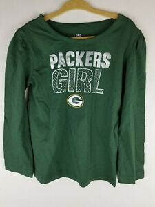 Green Bay Packers NFL Infant Toddler Girls Shirt 4T