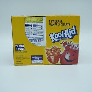 1 Box 48 Count Kool Aid Packets | Peach Mango | Expires 2/28/2022 | Multipack