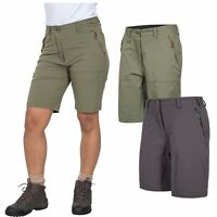 Trespass Rueful Ladies Shorts Grey For Hiking Quick Dry UV Protection