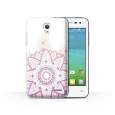 Étuis, housses et coques rose Pour Alcatel One Touch pour téléphone mobile et assistant personnel (PDA) Alcatel