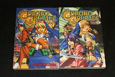 2004 Chrono Crusade #1+3 Manga 2pc Lot Daisuke Moriyama VF-NM