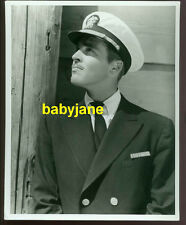 RICHARD NEY VINTAGE 8X10 PHOTO 1944 IN HIS MILITARY UNIFORM GREER GARSON HUSBAND