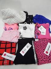 Total Girl 4 New Leggins Girls Pink Black Cheetah White Shaw & Used Play Shirts