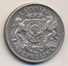LATVIA 2 lati - silver, 1926, XF