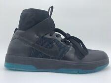 Nike SB Zoom Dunk High Elite Skate Boarding Shoe Black Teal 917567-003 Size 5.5