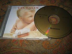 VAN HALEN 1984 USED DIGITALLY REMASTERED UK CD ALBUM.