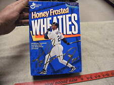 KEN GRIFFEY JR HONEY FROSTED WHEATIES BOX COLLECTOR's EDITION SEATTLE MARINERS