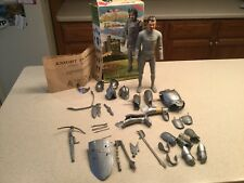 Vintage Louis Marx Sir Stuart Silver Knight  W/ Box, Manual and Most Accessories