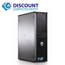 Fast Dell Optiplex 760 Desktop Computer Windows 10 Core 2 Duo 4GB 500GB HDMI Out