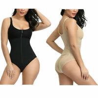 Women Postpartum Recovery Full Body Shaper Firm Tummy Control Bodysuit Shapewear