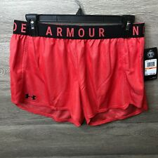 Under Armour Womens Size Small Daiquiri/Black Lightweight Knit Construction Play
