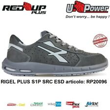 UPOWER SCARPE ANTINFORTUNISTICA RIGEL PLUS S1P SRC ESD U-POWER RED UP PLUS