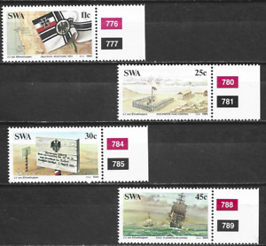 SOUTH WEST AFRICA -1984  100th Ann. of Colonization of Southwest Africa-MUH SET.