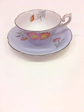 Vintage TEA CUP & SAUCER Royal Sealy China Japan Flowers