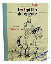 Tirage de Luxe toilé Les Sept Vies de l'EPERVIER l'Arbre de Mai tome 3 bd NEUVE