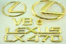 2000 24KT GOLD PLATED LEXUS LX470 EMBLEM KIT