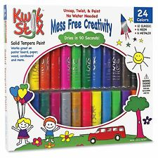 The Pencil Grip Tempera Paint 24-color Mess Free Set - 24 / Pack - (tpg604)