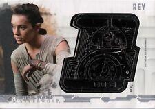 Star Wars Masterworks 2017, Droid Medallion Card 'Rey' #37/40