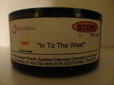 """In To The West""  35mm theater ad for TNT show 60 second commercial SCOPE"