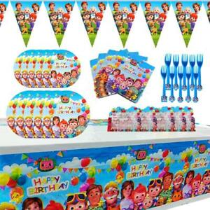Cocomelon Party Supplies Party Value set for 10 Guests Party decoration