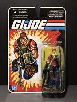 G.I. Joe 25th 30th 50th FSS Club Exclusive Final 12 Tiger Force Tunnel Rat MOC