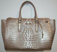 NWT Brahmin Moonscape Melbourne Textured Leather Blake Travel Carryall Bag Purse