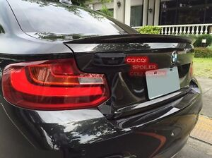 Painted 668 black BMW 14~19 F22 2-series coupe performance type trunk spoiler ◎