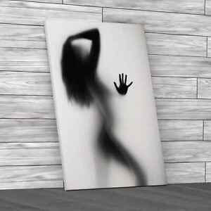 Sexy Erotic Naked Woman Original Canvas Print Large Picture Wall Art