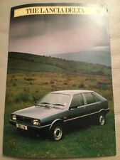 Lancia Delta Car Brochure - 1982 - excellent condition