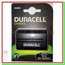 Batteria Ricaricabile DURACELL DR9695 = SONY NP-FM500H x SONY Alpha A700 SLT-A99