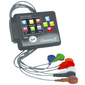 Scottcare 101942 Chroma 2 Holter Recorder  (3 Channels of ECG Data)