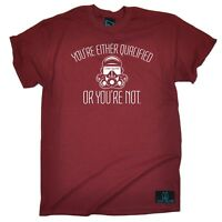 Diving Your Either Qualified Or Your Not diver funny Birthday tshirt T-SHIRT