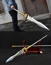 High manganese steel Overlord Spear pike lance Shocking thunderclap Sword #051