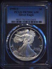 1990-S PCGS Proof 70 U.S. Silver Eagle