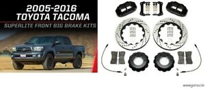 "Wilwood Front Brake Kit Fits 2005-16 Toyota Tacoma,6 Piston Calipers,13"" Rotors"