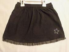 Halloween Dress Up 5T Everyday Black Elastic Waist Cotton Spandex Skirt NWT