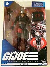 "GI JOE Classified Series DESTRO 6"" Figure 2020 *Circle On Head."
