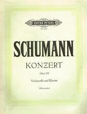 Schumann: Concerto Per Violoncello e Pianoforte Opera 129 - Peters