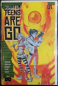 Quantum Teens Are Go #1 NM- 1st Print Black Mask Comics