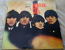 "Beautiful 1965 Japanese Red Wax ""Beatles For Sale"" Vinyl VG+++  Album Cover NM-"