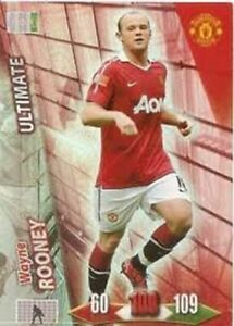 Adrenalyn XL Manchester United 2010/2011 Wanye Rooney Ultimate 10/11