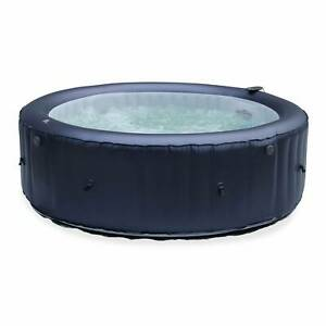 Spa MSPA gonflable rond – CARLTON 6  - Spa gonflable 6 personnes rond 205 cm.