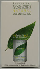 Refreshed Lemon Myrtle Pure Oil, Tea Tree Therapy, 0.5 oz