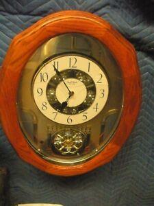 Classic Glory Musical Wall Clock by Rhythm Clocks 4MH822WU06